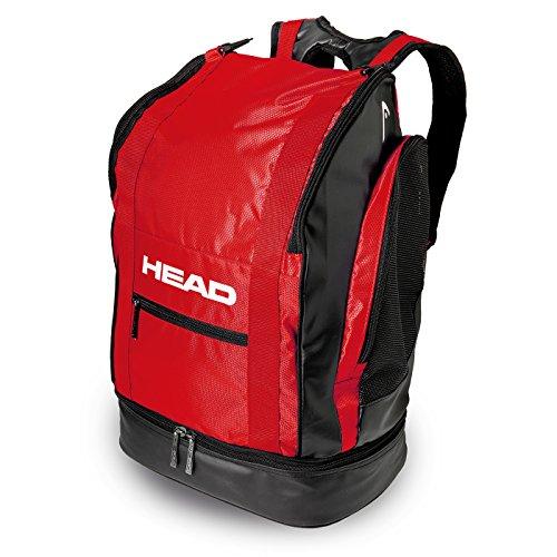 HEAD Tour Backpack 40Rucksack Unisex, schwarz/rot