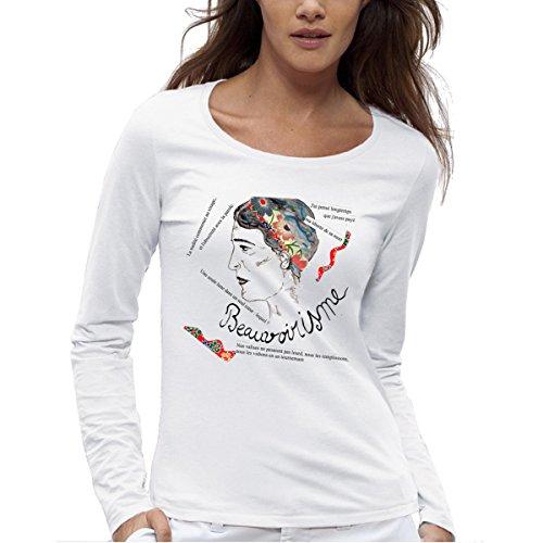Camiseta de Simone De Beauvoir