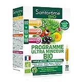 Santarome Bio Programme Ultra Minceur 30 Ampoules Complément Alimentaire Perte de Poids 30 Jours