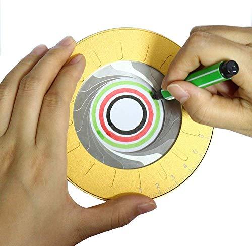 Aluminium Tekening Cirkels Geometrische Tool - 5