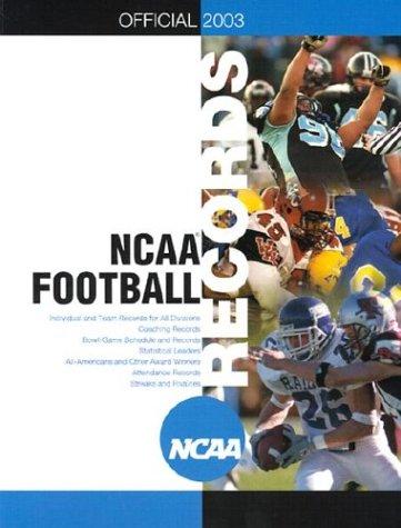 Official 2003 Ncaa Football Records
