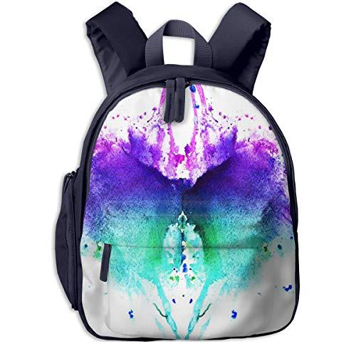 Kinderrucksack Kleinkind Jungen Mädchen Kindergartentasche Test Wasser symmetrisch Backpack Schultasche Rucksack