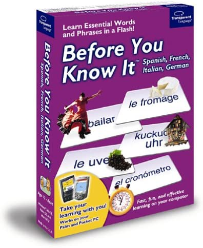Before You Know It Multi Pack Spanish French Italian and German product image