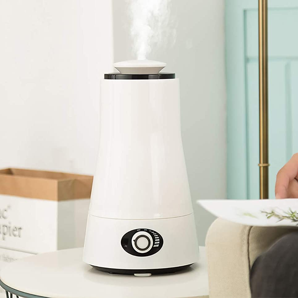 天国どうしたの区別する超音波 アロマディフューザー 、ホームオフィスの寝室2.5l用空気加湿器クールミスト加湿器