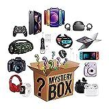 NBCV Caja Misteriosa,Caja Sorpresa,Mystery Box Electrónico,¡Mercancía Aleatoria como Regalo! Se Puede Abrir: Los Últimos Teléfonos Móviles, Drones, Relojes Inteligentes, A