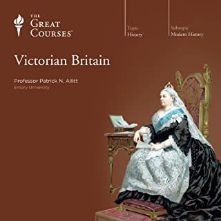 Victorian Britain audiobook cover art