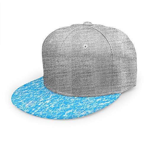 Flache Kappe Öl Pastell Nahtlose Textur Baseball Cap Männer Frauen: Plain Sport einstellbar solide Jugend Vater Ball Hut