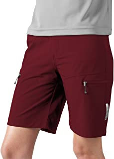 AERO|TECH|DESIGNS Women's Multi-Sport Shorts in stretch woven with zippered cargo pockets