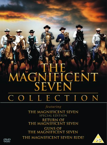 The Magnificent Seven Collection [The Maginificent Seven, Return of, Guns of, Ride] [DVD] [1960] [2001]