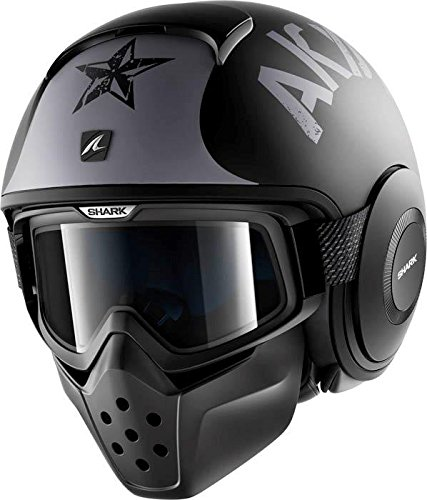 Shark シャーク Drak Soyouz Helmet 2017モデル ヘルメット マットブラック/グレー L(59~60cm)
