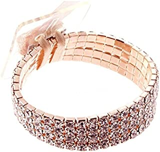 Corsage Bracelet- Rock Candy (Rose Gold)