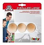 Smoby - 3 Balles en Liège pour Babyfoot - 35 mm - 140410