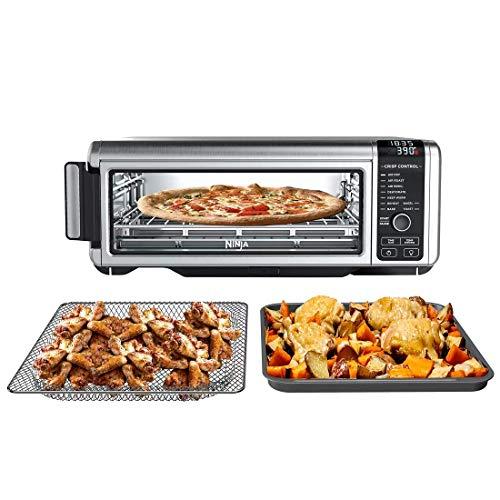 Ninja Foodi 9-in-1 Digital Air Fry Oven Air Fry, Air Roast, Air Broil, Bake, Bagel, Toast, Dehydrate, Keep Warm, and Reheat - Stainless Steel