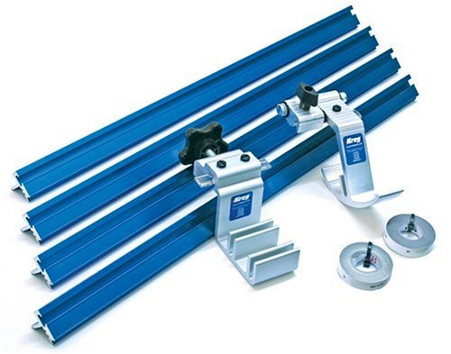 Kreg KMS8000 Precision Trak and Stops Kit, Blue