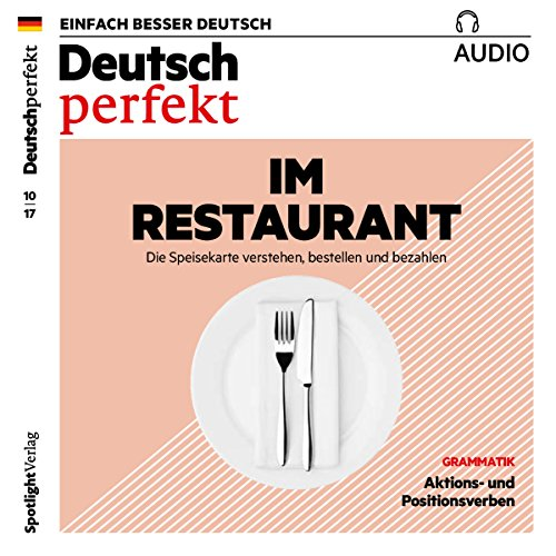 Deutsch perfekt Audio. 10/2017 audiobook cover art