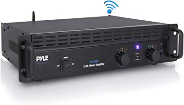 Professional Audio Bluetooth Power Amplifier – 2-Channel Rack Mount Bridgeable, LED..
