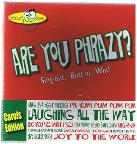 Are You Phrazy arols Edition by Gotta Laff Games