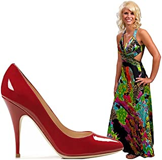 3 ft. Red Stiletto High Heel Standup Photo Op Prop Party Decoration Scene Setter Cardboard Cutout