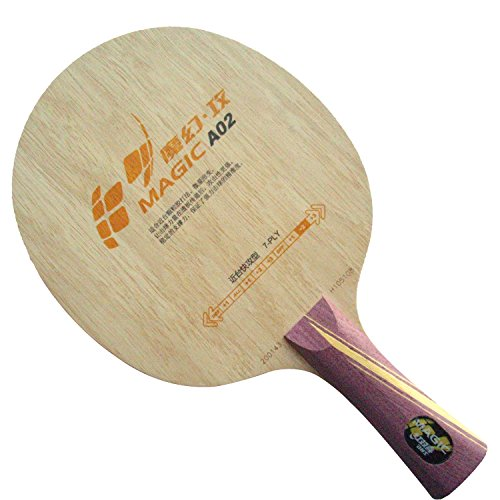 Find Discount DHS MAGIC A02 with Quick and attack OFF++ Long FL Table Tennis Blade