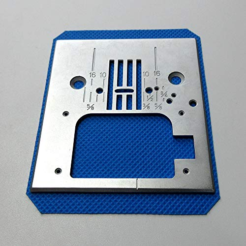 Placa de aguja #087106 para Singer 7258,7258CL, 7285Q, 7442CL, S800, S900 Inspiration