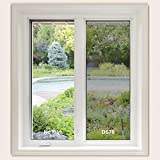 Deppon Window Film, Heat Control and UV Ray Resistance Glass Window Tint for Home and Office, Black