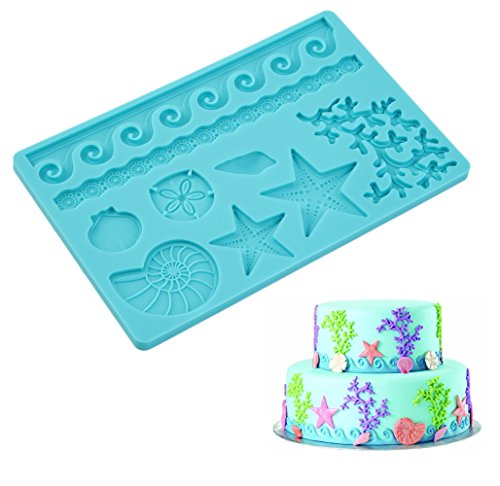 Sealife Style Starfish Moulds