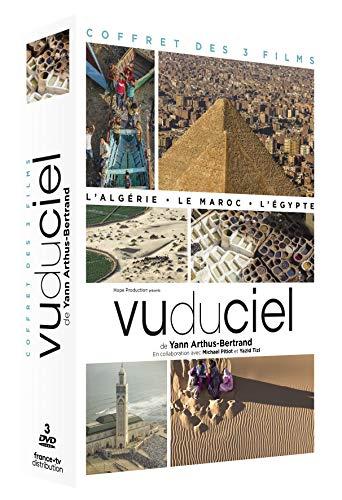 Vu du Ciel de Yann Arthus-Bertrand-Le Coffret intégral des 3 Films : L'Égypte + L'Algérie + Le Maroc