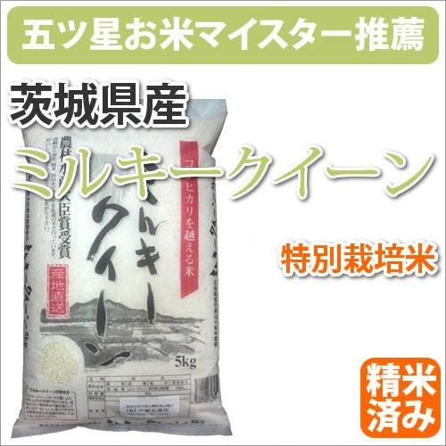 アグリ山崎 特別栽培米 茨城ミルキークイーン 10kg