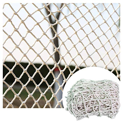 Safety Net Kids Protective Safety Protection White Nylon Netting Heavy Duty For Windows Plants Safety Netting For Railings Soccer Nets For Boys Trellis Nets For Climbing Plants 6mm/5cm