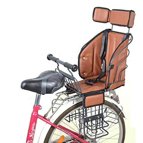 GPWDSN Kinderfahrradsitz Für Kinder Elektro-Fahrrad-vorderen Stuhl Baby-Sattelkissenträger Sport Sicherheit Stable