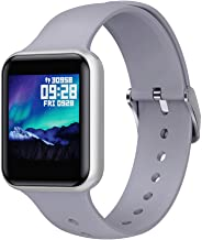 Feaiki Smart Watch All-Day Heart Rate Monitor, Activity Tracking with 1.3 inch(38mm) Touch Screen, Sleep Monitoring, Bluetooth, Waterproof, Sports Bracelet & Step Counter
