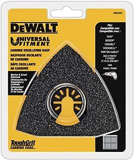 DEWALT Oscillating Tool Blade, Carbide Rasp (DWA4221)