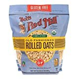 Bob's Red Mill Gluten Free Organic Old Fashioned Rolled Oats, 2 Pound (Pack of 1)
