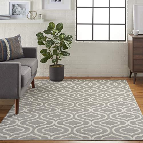 Amazon Brand - Movian Timok - Tappeto rettangolare, 221 x 160 cm (Lu x La), motivo geometrico