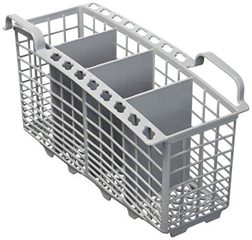 Panier à couverts pour lave-vaisselle à 4 compartiments, gris, de Indesit
