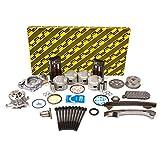 Evergreen OK2042GM/2/2/2 Fits 00-06 Toyota Corolla Celica GTS Matrix 1.8L DOHC 16V 2ZZGE Master Overhaul Engine Rebuild Kit (w/VVTi Gear)