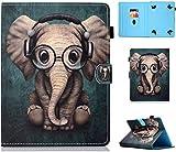 Amlope Housse Coque pour Universal 9-10.1 Pouces Tablette, Cuir Flip Etui pour Huawei T3/T5 10,...