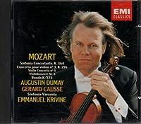 Violin Concerto 3/Rondo for Violin/Sinfonia Concertante by Augustin Dumay