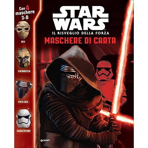 Il risveglio della forza. Maschere di carta. Star Wars. Con gadget