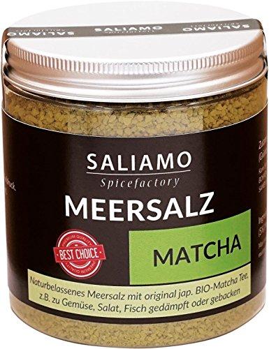BIO Matcha Salz 250 g | Saliamo