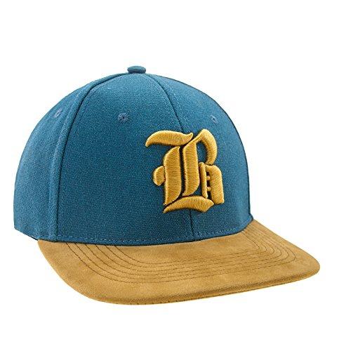 Morefaz Nouveau Snapback Cap toit en suède Casquette de Baseball Bonnet Cap Chapeau Snap back 3D Gothique B (Yellow B)