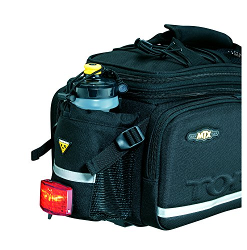 51TZUv uvgL Topeak MTX Trunk Bag DXP Bicycle Trunk Bag with Rigid Molded Panels