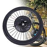 Kit de conversión para rueda delantera de bicicleta eléctrica, motor de 36 V 240 W, rueda delantera, motor de bicicleta eléctrica, motor de conversión de bicicleta eléctrica (27,5 pulgadas)