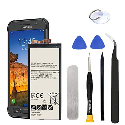 HDCKU S7 Active Battery Replacement Kit for Samsung Galaxy S7 Active G891 EB-BG891ABA