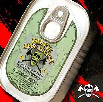 Zombie Apocalypse Survival Kit in a Sardine Can (1 Piece) by S/C/K