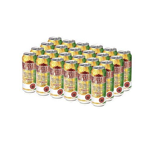 Desperados Cerveza Tequila Pack 24 Latas 50cl