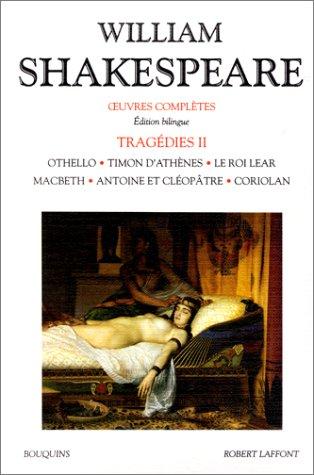 Oeuvres complètes, Tragédies, tome 2