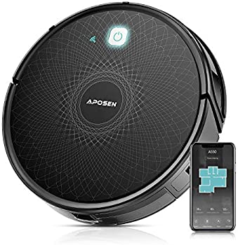 APOSEN WiFi Self-Charging Automatic Cleaning 2100Pa Robotic Vacuum