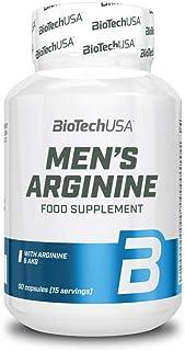 Biotech USA Men'S Arginmax Vitaminas y Minerales - Suplemento alimenticio. 90 Tabletas