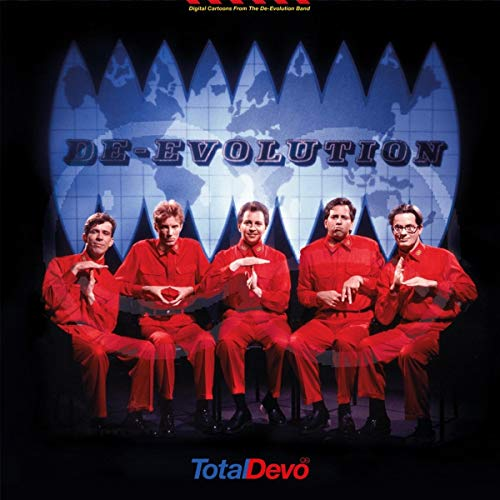Total Devo - Transparent Red Disk and a Transparent Blue Disk (2 LP)